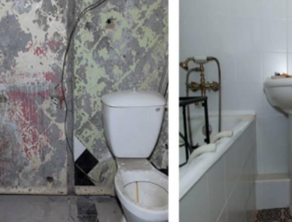 Remodelação de Casas de banho / Wc.