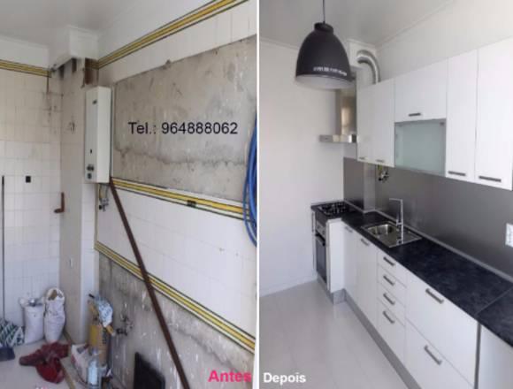 Renovação de Cozinhas.