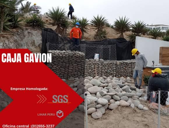VENTA GAVIONES CAJA Y COLCHON  LIHAR PERU SAC