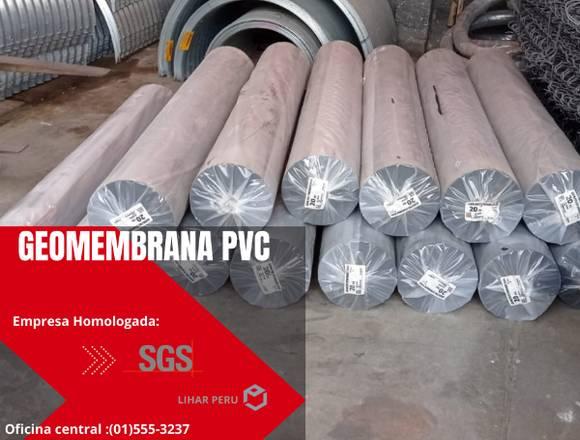 VENTA DE GEOMEMBRANA HDPE Y PVC,