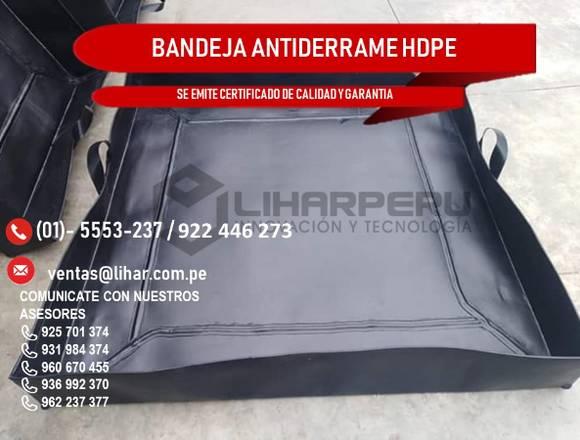 VENTA DE BANDEJA ANTIDERRAME DE GEOMEMBRANA HDPE