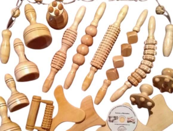 Maderoterapia. Kit Profesional de 18 Instrumentos