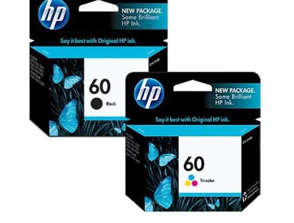 Cartuchos usados Hp664 Negro(6) Color(1) p recarga