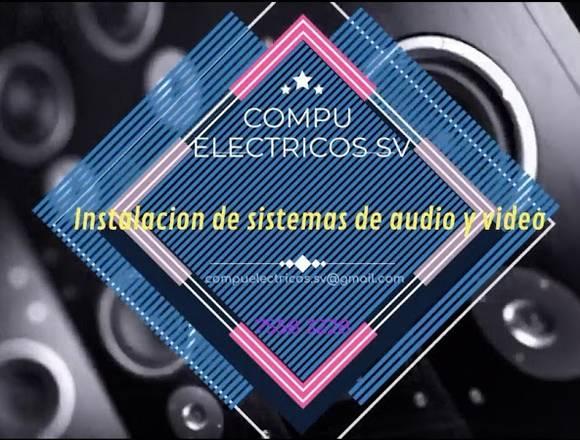 Instalación de sistemas de audio y vídeo