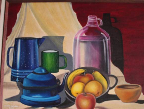 Pintura 🖌 oleo frutas
