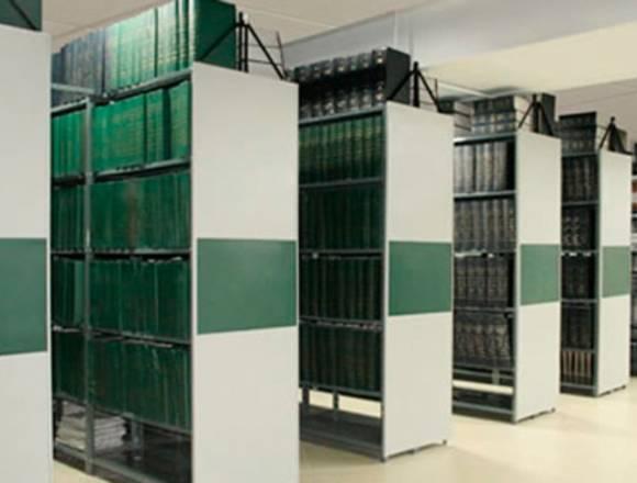 fabricación y mantenimiento archivo rodante