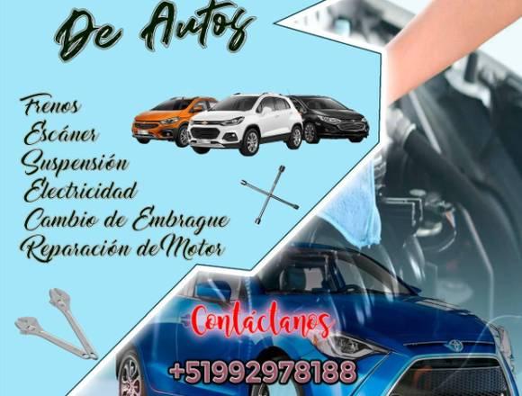 Reparación y mantenimiento de autos