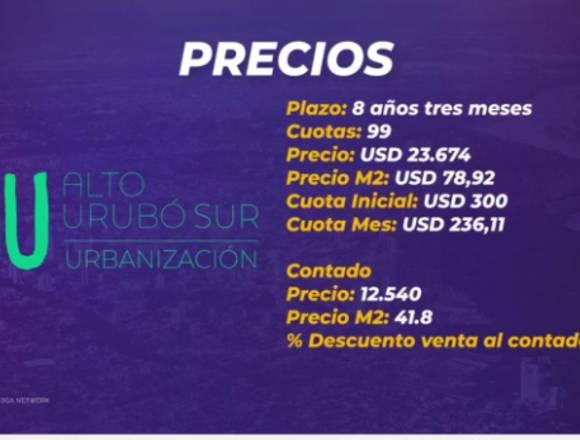 TERRENOS EN LOS PORTONES DEL URUBO