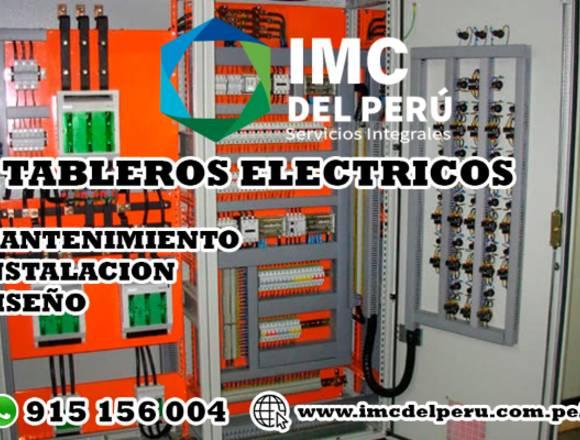 Instalacion y mantenimiento de tableros electricos