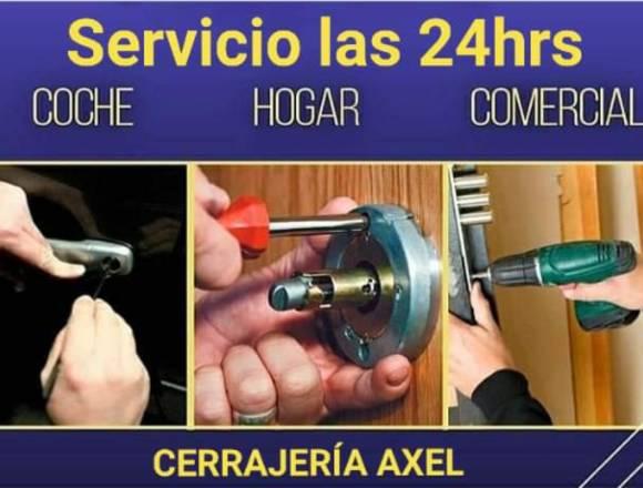 CERRAJERÍA AXEL 24 HORAS.