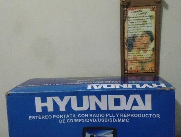 "Reproductor Componente Hyundai Pantalla 7"""