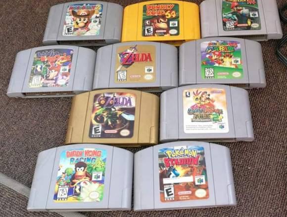 Vendo hermosa consola Nintendo 64