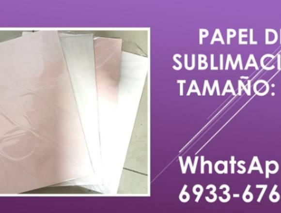 papel de sublimacion A3