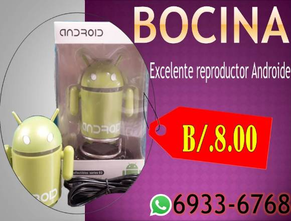 bocina andriod mp3 y para pc