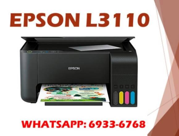 EPSON l3110 con tinta sublimacion incluido