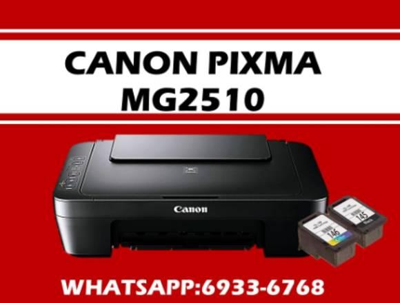 canon mg 2510  multifuncional con tintas