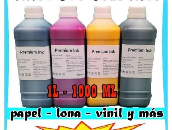 tinta eco-solvente para plotte