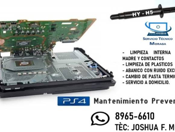 MANTENIMIENTO DE CONSOLAS PS3 Y PS4