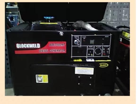 Planta Eléctrica Diesel Semisilenciosa 5 Kilos