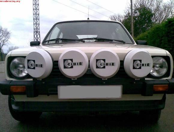 Parrilla faros de largo alcance de Rallyes CIBIE