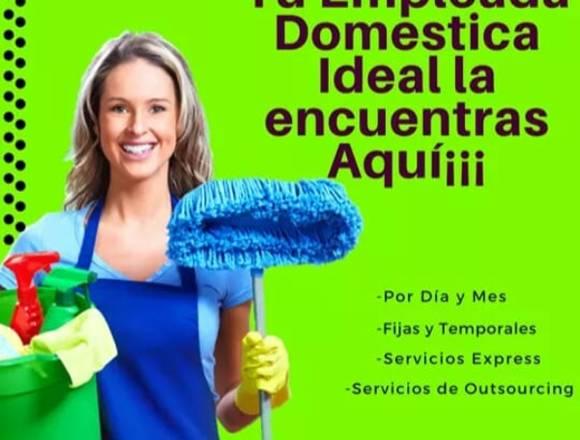 Empleadas domestica y niñeras