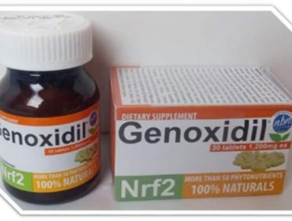 GENOXIDIL  1200 MG  FRASCO CON 30 TABLETAS