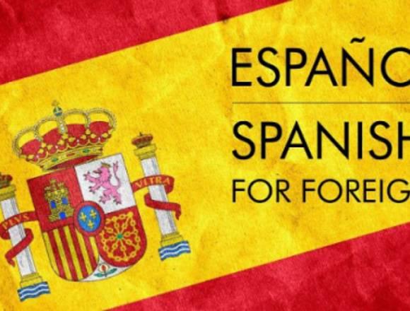 Spanish teacher for foreigners