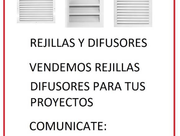 REJILLAS Y DIFUSORES