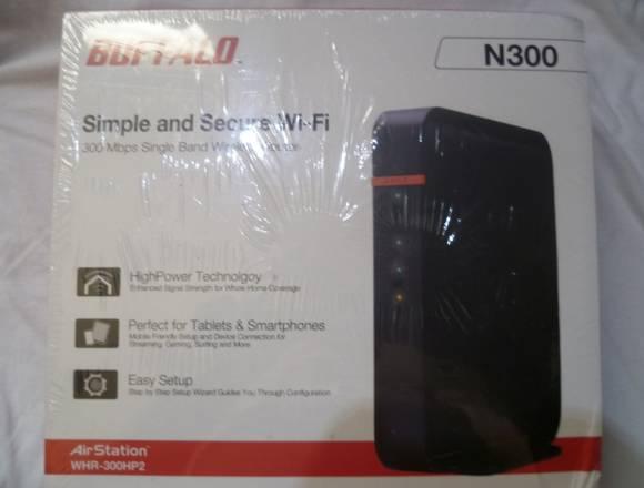 Buffalo Airstation Highpow N300 Router 4k Hd Voip