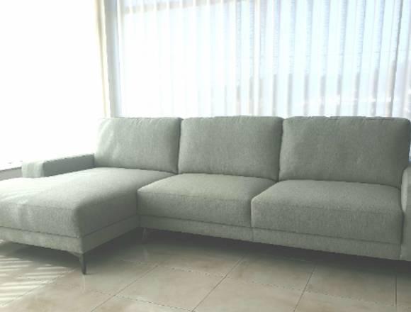 Sofa cheselong com 3.00x1.60 em tecido NOVO
