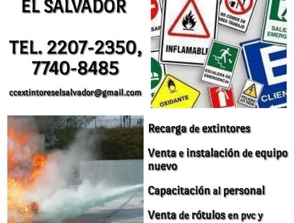 C&C EXTINTORES EL SAVADOR ( 2274-7488, 2207-2350)