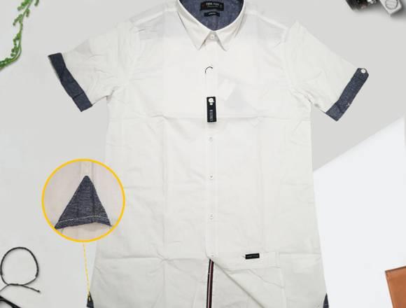 Camisa Casual Manga Corta FJ