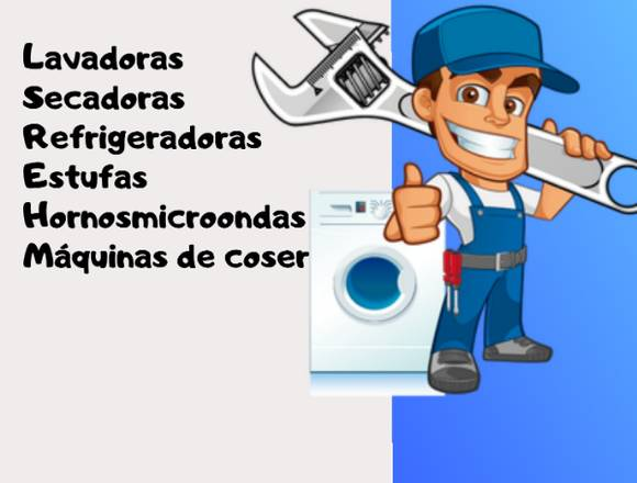 DE REPARACIÓN Y MANTENIMIENTO DE ELECTRODOMÉSTICOS