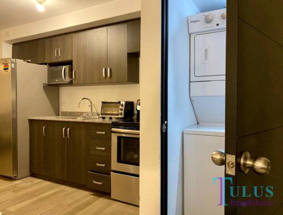 Apartamento semi equipado en renta