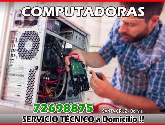 SERVICIO TÉCNICO – COMPUTADORAS 72698875
