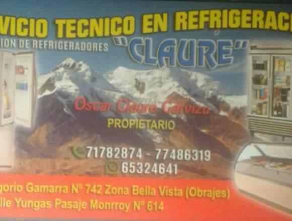 SERVICIO TÉCNICO REFRIGERACIÓN Y ELECTRODOMÉSTICOS