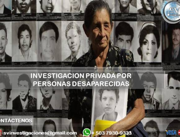Investigación Privada por Familiar Desaparecido