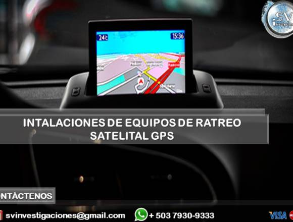 Instalación de Equipos de Rastreo Satelital GPS