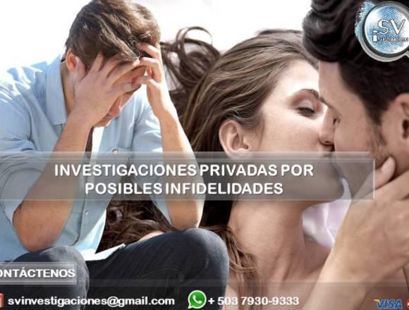 Investigación Privada por Posible Infidelidad