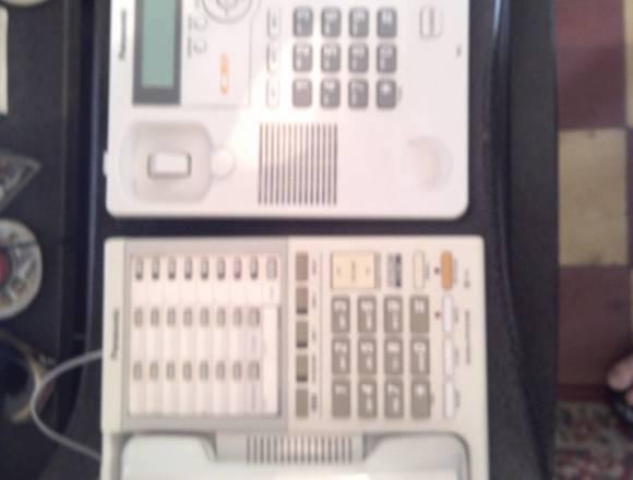 Telefonos 2 entradas panasonic en buen estado