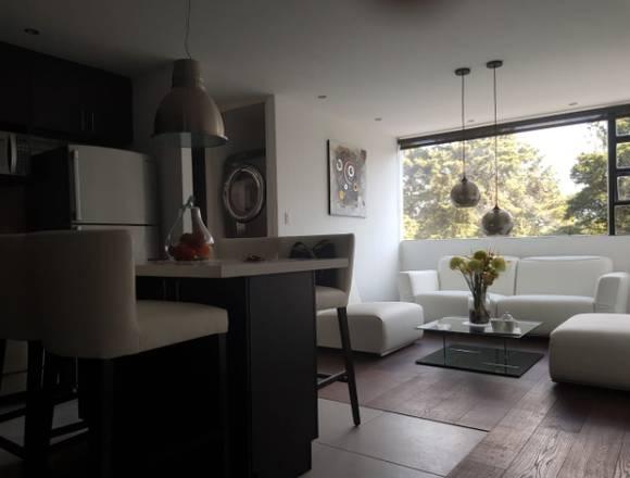 Alquilo precioso apartamento amueblado zona 14