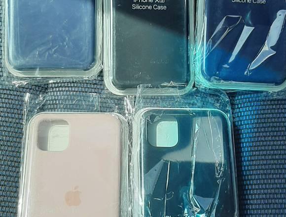 Cover de silicona para Iphone para varios modelos