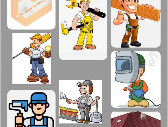 Construcción, remodelación y mantenimientos