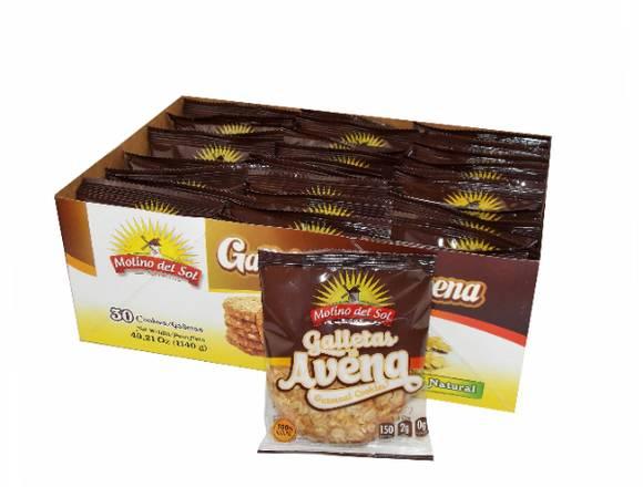 Galletas de Avena - Merienda Saludable
