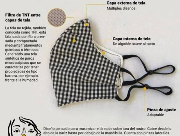 En venta Mascarilla de Tela Reutilizable