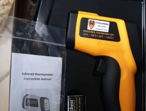 Termômetro infravermelho industrial de