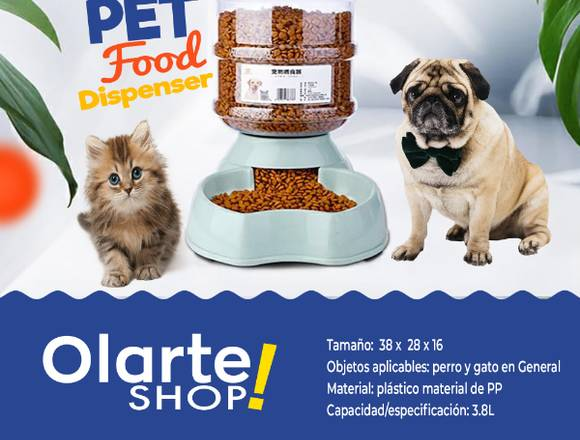 Dispensador Automático De Comida Para Perros