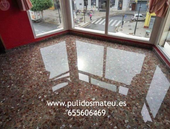 Abrillantar suelos en Valencia