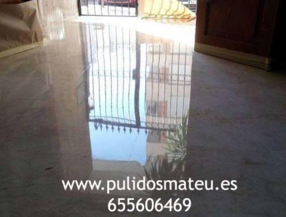 Pulidos de Suelos en Valencia - Pulidos Mateu