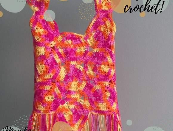 Todo realizado a crochet